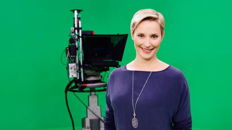 Grünes Medientraining Janine Steeger